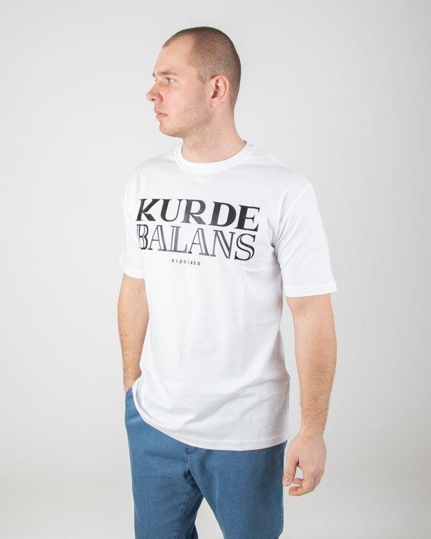 Koszulka El Polako Kurde Balans White
