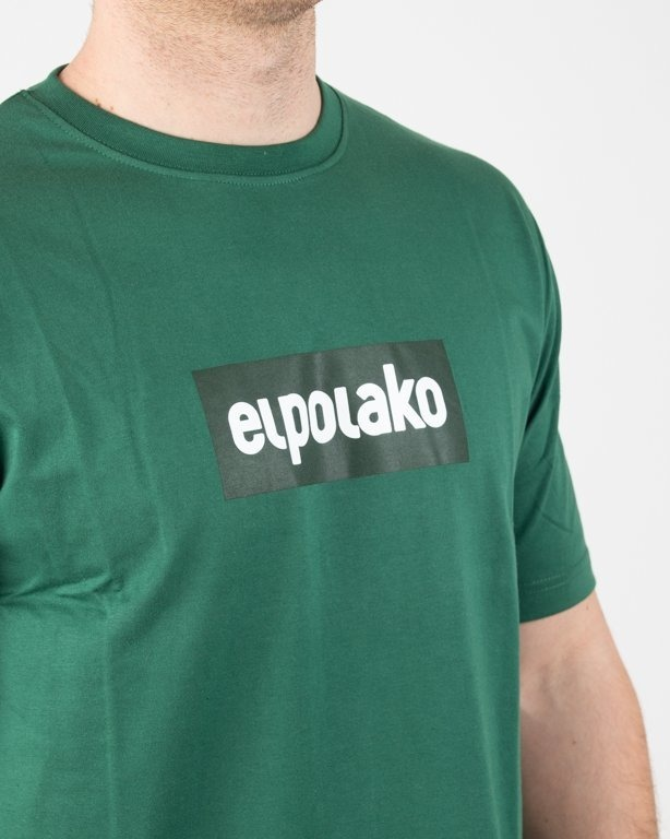 Koszulka El Polako Logobox Green