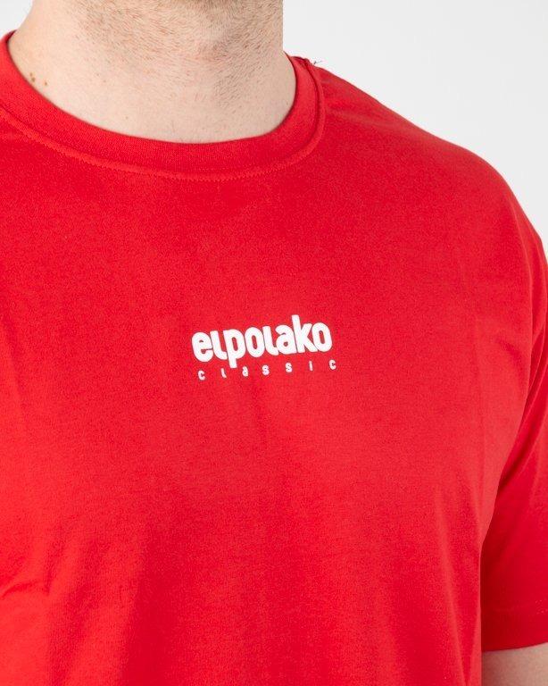 Koszulka El Polako Mini Logo Red