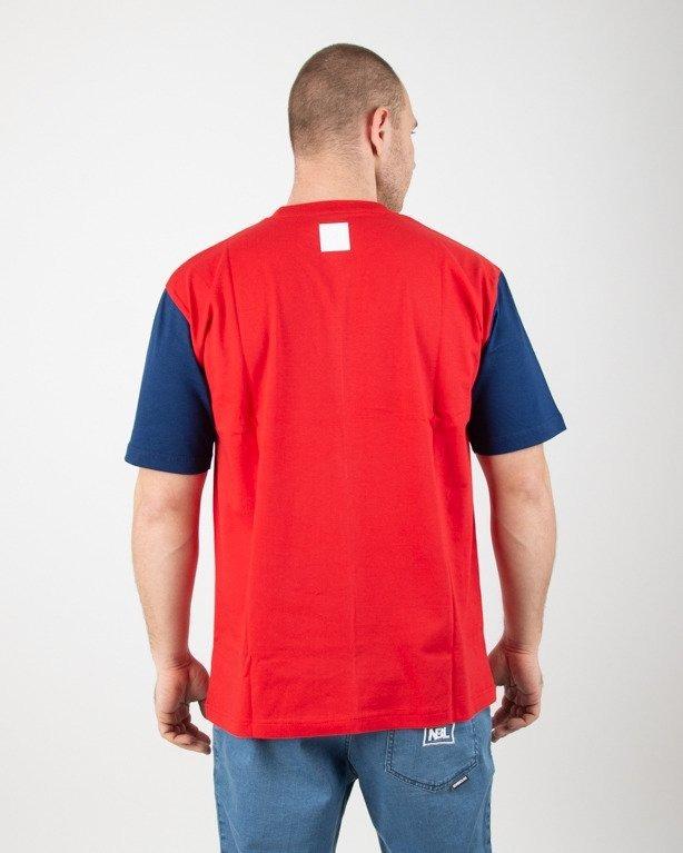 Koszulka El Polako Square Cut Red-Navy