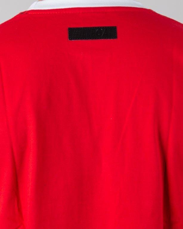 Koszulka Illegal 3 Color Red-Navy