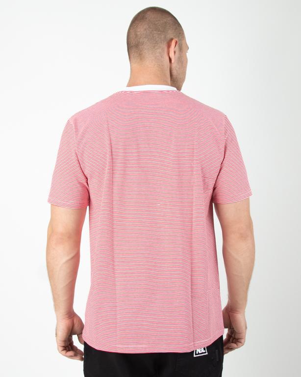 Koszulka Koka Stripes Label Red