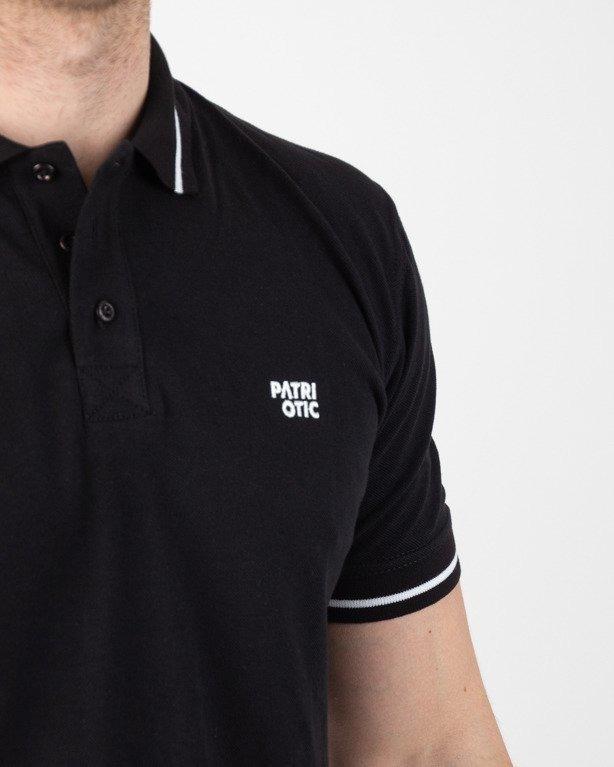 Koszulka Koszulka Patriotic Polo Cls Black