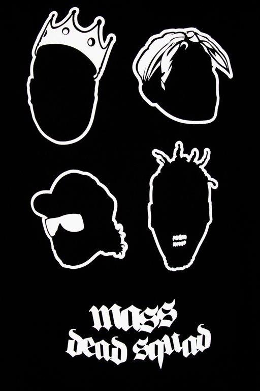 Koszulka Mass Dead Squad Black