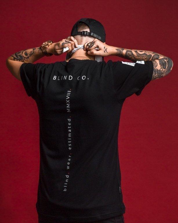 Koszulka Nbl X Blind Wear Blind Squa Black