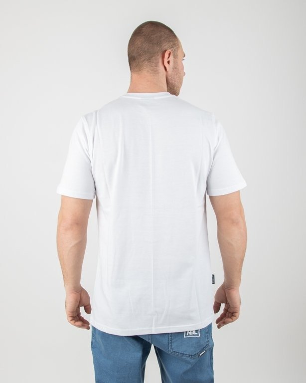Koszulka New Bad Line Outline White