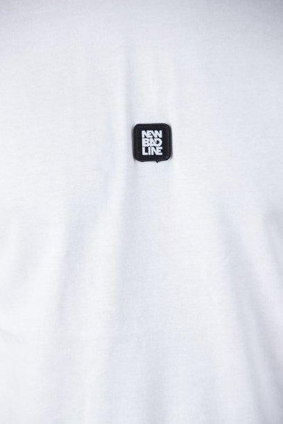 Koszulka New Bad Line Rainbow White