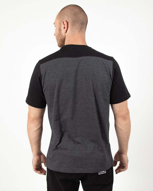 Koszulka Patriotic Cls Shoulder Black-Grey