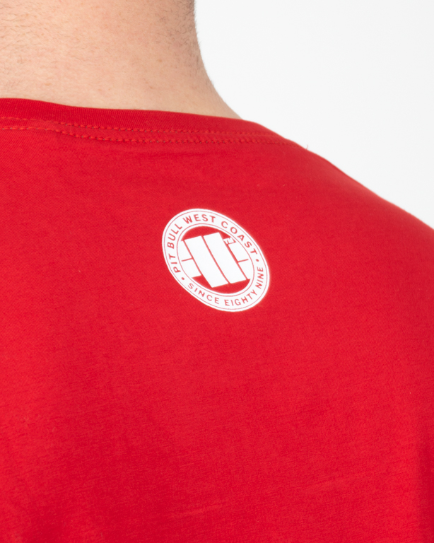 Koszulka Pitbull Classic Boxing Red