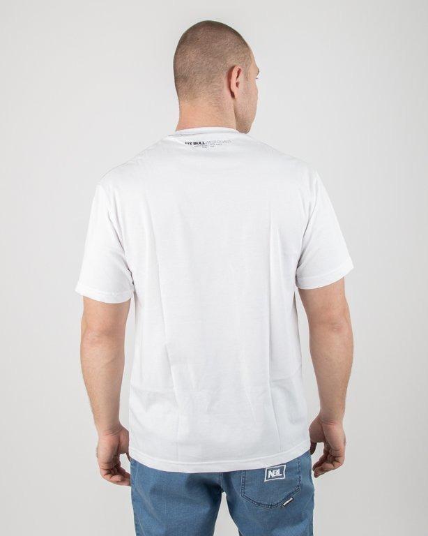 Koszulka Pitbull Classic Logo White