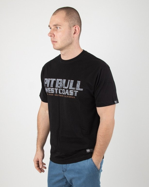 Koszulka Pitbull Fighter Black