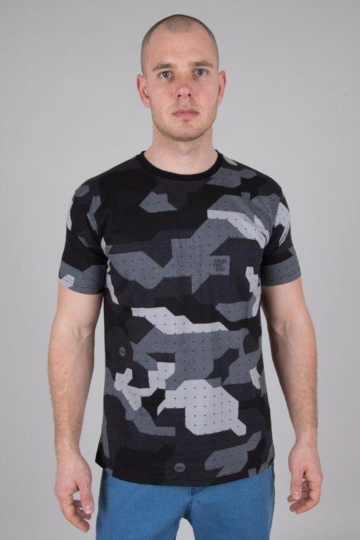 Koszulka Stoprocent Camu Black