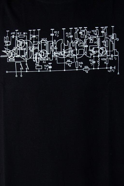 Koszulka Stoprocent Electro Black