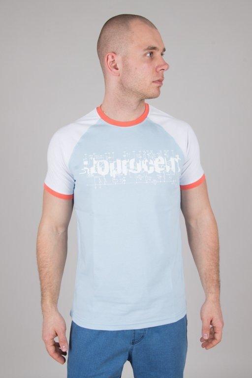 Koszulka Stoprocent Electro Blue-White