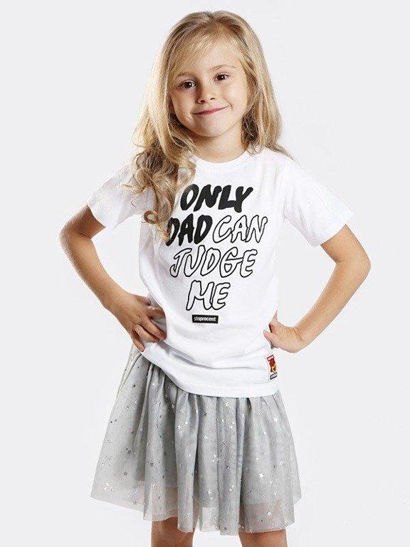 Koszulka Stoprocent Kid Dad White