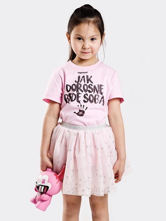 Koszulka Stoprocent Kid Jak Dorosnę Pastel