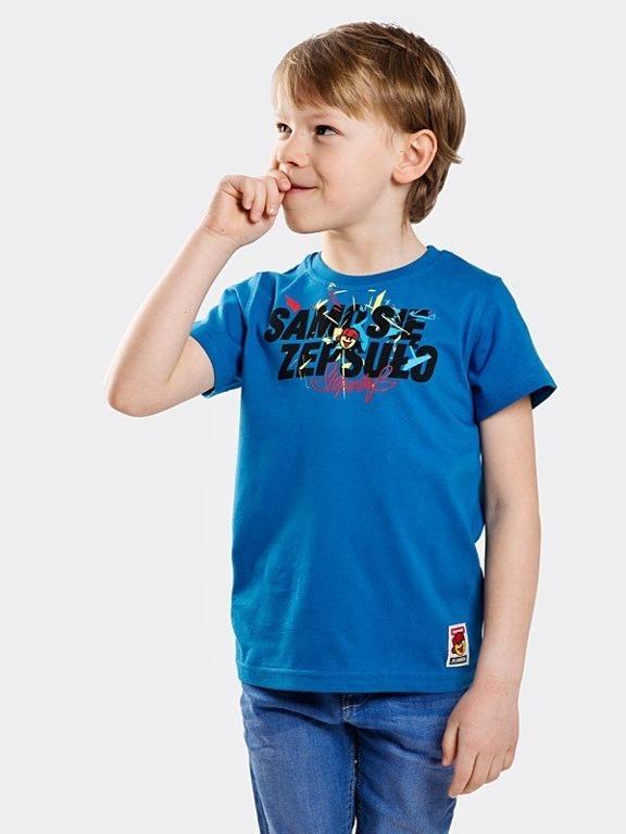 Koszulka Stoprocent Kid Samo Navy