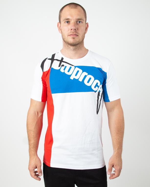 Koszulka Stoprocent Mixtag White-Blue