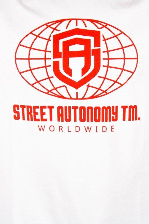Koszulka Street Autonomy Worldwilde White