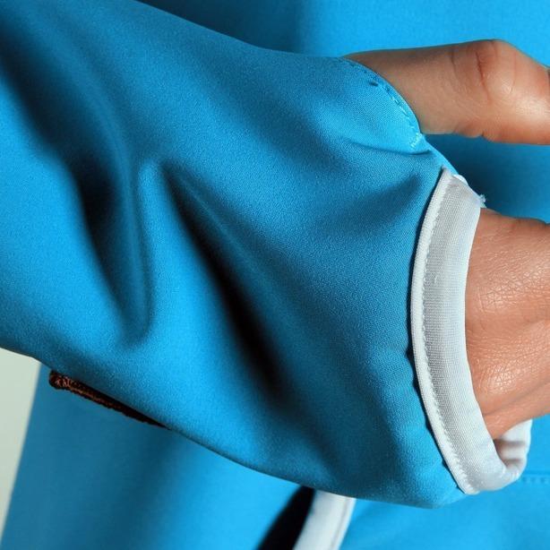 Kurtka Prosto Damska Softshell Blue