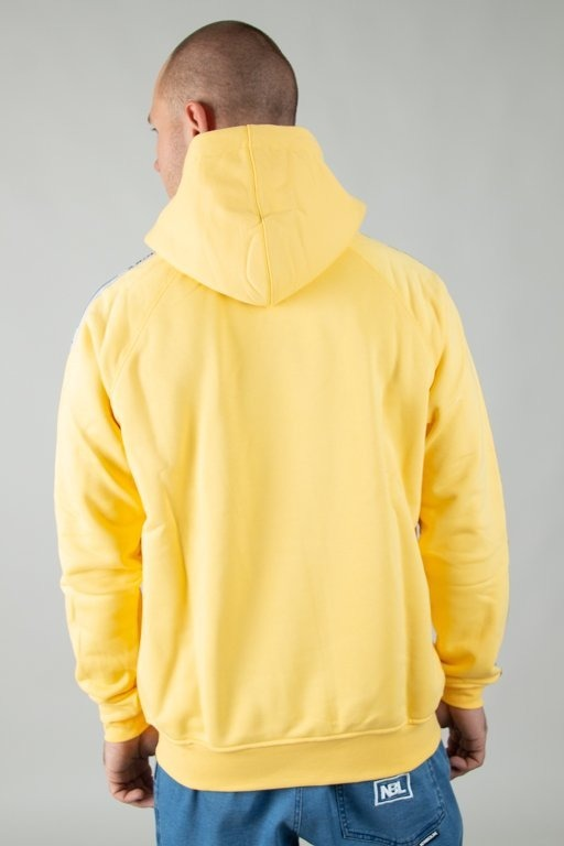 LUCKY DICE HOODIE TAPE LOGO YELLOW