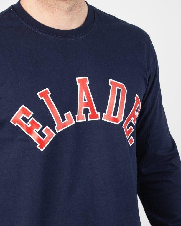 Longsleeve Elade College Navy-Red