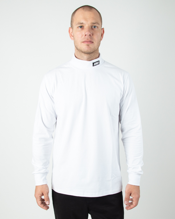 Longsleeve Koka Golf Turtleneck White