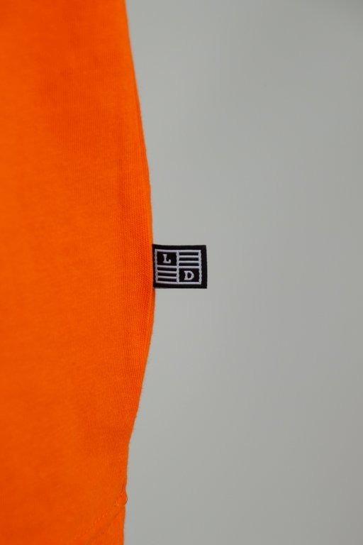 Longsleeve Lucky Dice Raglan Tape Orange
