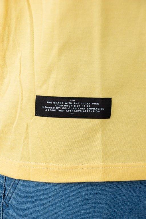 Longsleeve Lucky Dice Raglan Tape Yellow