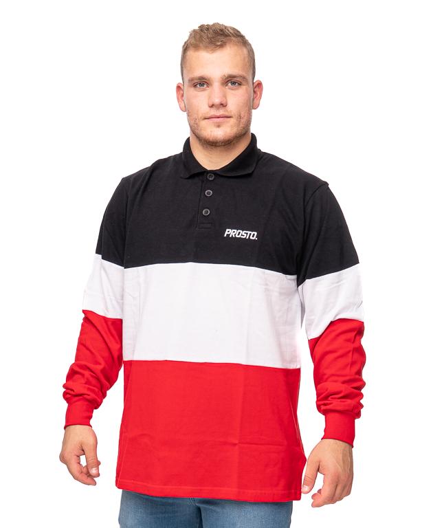 Longsleeve Prosto Polo Malle Black-Red