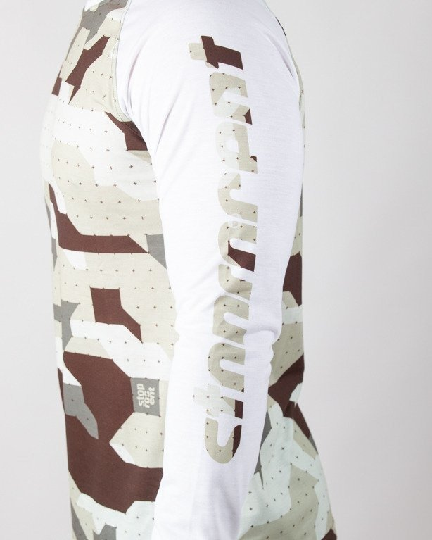 Longsleeve Stoprocent Arm Camo White