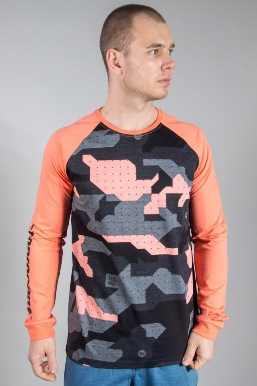 Longsleeve Stoprocent Camo18 Coral
