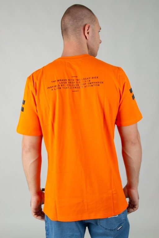 Lucky Dice Koszulka T-shirt Vhs Orange