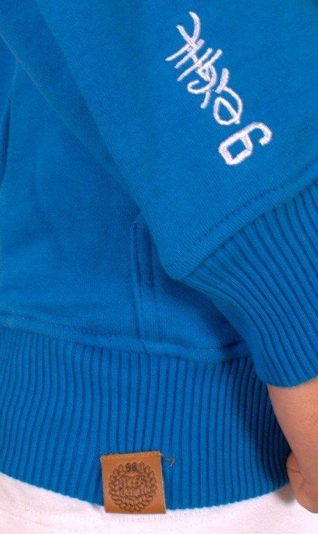 MASS BLUZA BEZ KAPTURA BASE BLUE