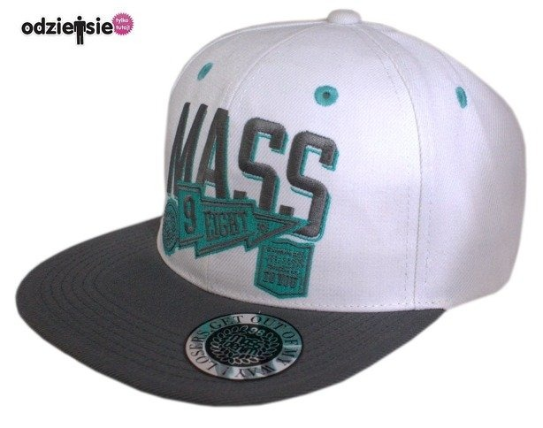 MASS CZAPKA SNAPBACK WINNER WHITE