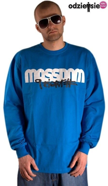 MASS LONGSLEEVE ICON BLUE