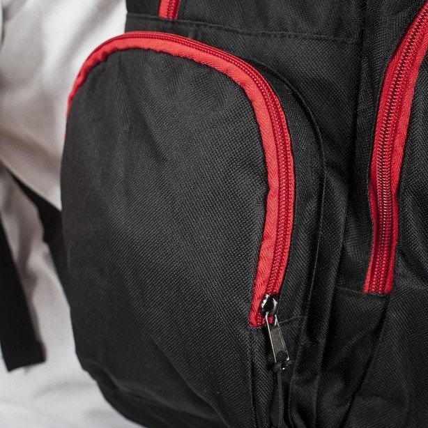 MASS PLECAK BASE 013 BLACK-RED