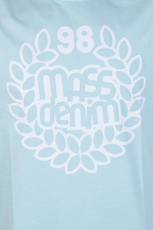 MASS T-SHIRT BASE LIGHT BLUE