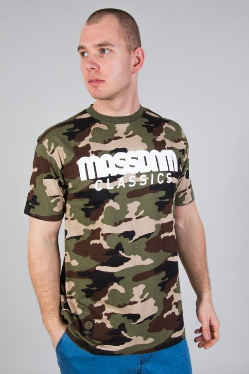 MASS T-SHIRT CLASSICS CAMO