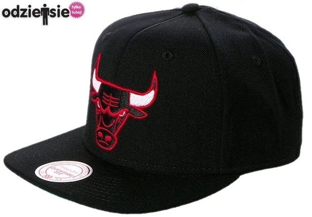 MITCHELL & NESS CZAPKA NBA SNAPBACK CHICAGO BULLS