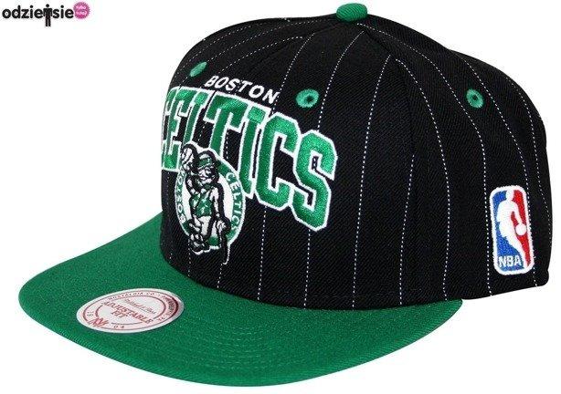 MITCHELL & NESS CZAPKA NBA SNAPBACK PIN BOSTON CELTICS