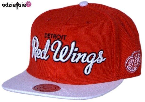 MITCHELL & NESS CZAPKA NHL SNAPBACK DETROIT RED WINGS