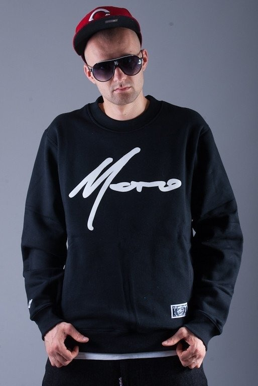 MORO BLUZA BEZ KAPTURA PARIS BLACK