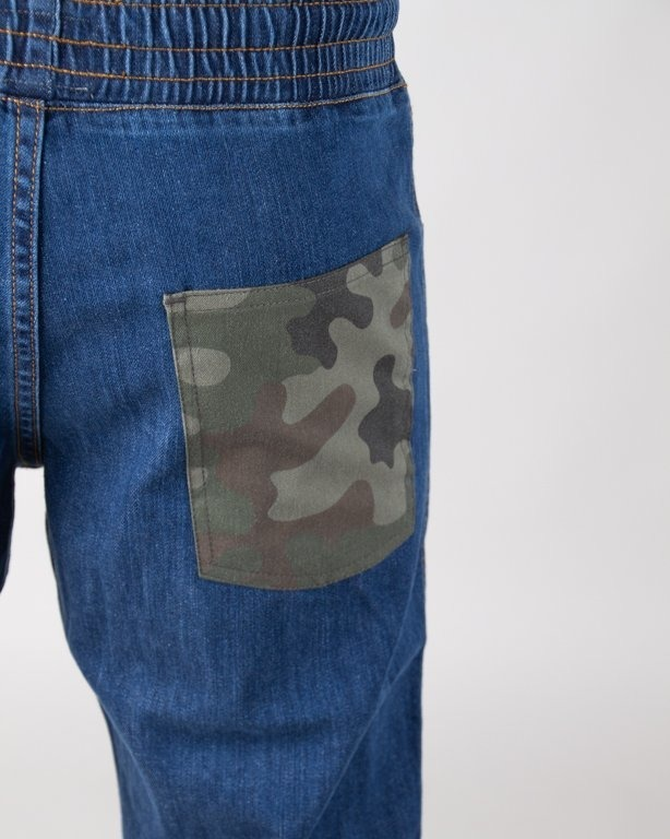 MORO JEANS JOGGER STRAIGHT FIT CAMO POCKET MEDIUM