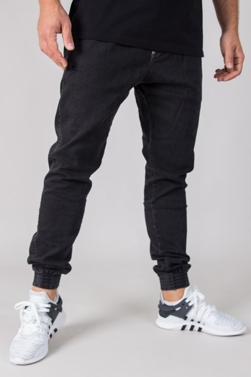 MORO PANTS JEANS JOGGER GYM PARIS18 GREY