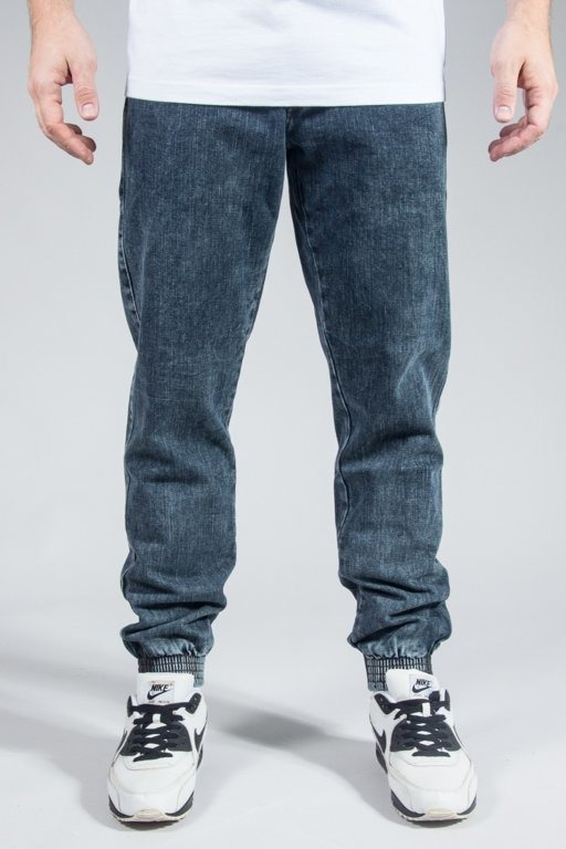 MORO SPORT PANTS JEANS JOGGER BIG PARIS MARMUR