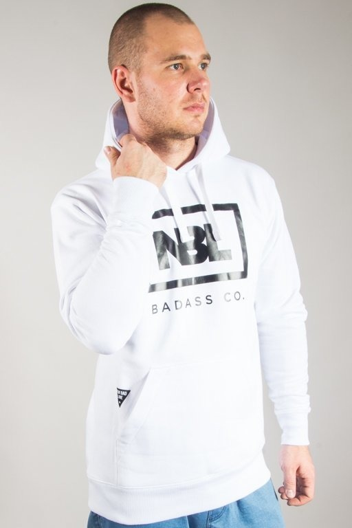 NEW BAD LINE HOODIE ICON WHITE