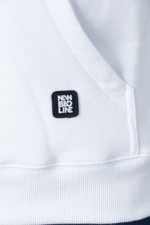 NEW BAD LINE HOODIE PALM WHITE