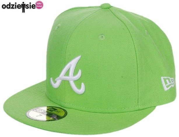 NEW ERA CZAPKA ATLANTA BRAVES BASIC LIME