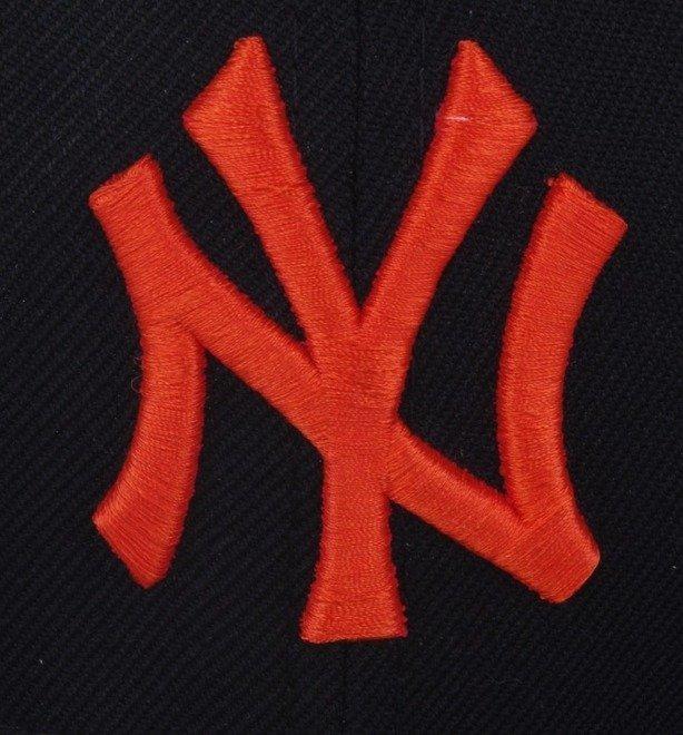 NEW ERA CZAPKA NY NEW YORK YANKEES BLACK-ORANGE